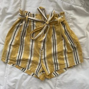 Urban Outfitters paper bag shorts